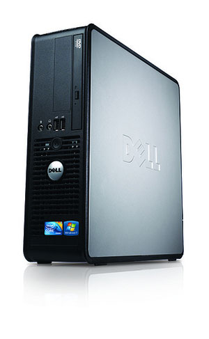 "Paket cpu second DELL OPTIPLEX 380 Slim SFF branded bekas dengan LCD 19"" dan keyboard mouse Dell"