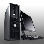 "Paket cpu second DELL OPTIPLEX 380 Desktop branded bekas dengan LCD 19"" dan keyboard mouse Dell"