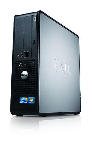 "Paket cpu second DELL OPTIPLEX 380 Slim SFF branded bekas dengan LCD 19"" dan keyboard mouse Dell"