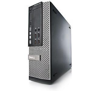 "Paket cpu second DELL OPTIPLEX 990 Slim SFF branded bekas dengan LCD 19"" dan keyboard mouse Dell"