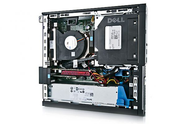 "Paket cpu second DELL OPTIPLEX 990 Slim SFF branded bekas dengan LCD 19"" dan keyboard mouse Dell"